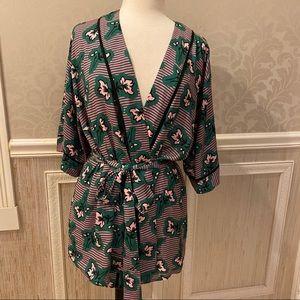 Adorable wrap kimono top Eloquii 14/16 New W/O tag